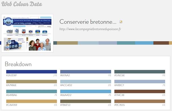 quelles couleurs utilise ce site ?