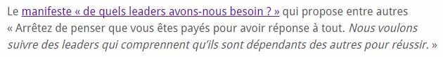 """lien """"classique"""""""