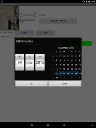 The date picker is user friendly.
