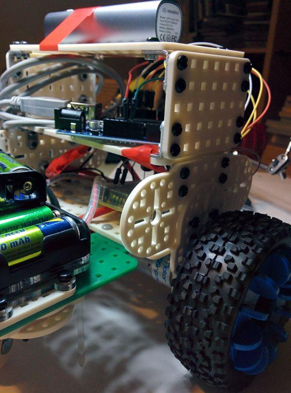 Robot de base Arduino L293D