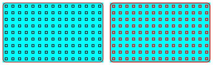 Dans Inkscape, Différence entre bloc decomposé ou non