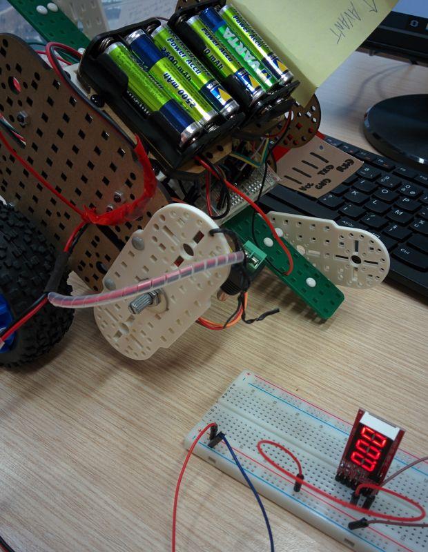 testeur de batterie avec piles rechargeables