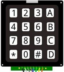 keypad pour arduino