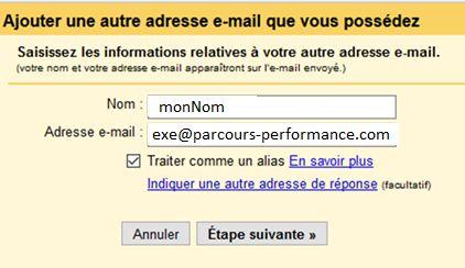 Ajouter une adresse mail dans gmail - 1