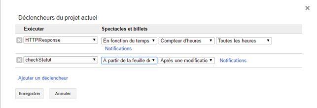 Déclencher un script Google Sheets lorsque la feuille change