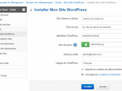 Infomaniak : installer un site WordPress