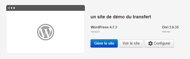 Infomaniak : Configurer le site WordPress