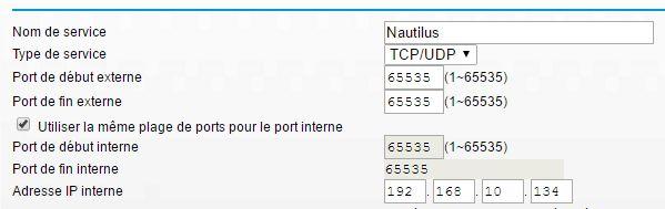 ouverture de port sur routeur Netgear DGN2200v4