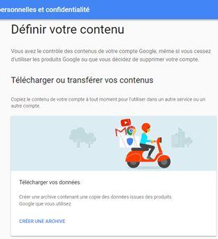 sauvegarde des mails de Gmail : créer une archive