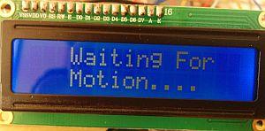 Arduino, mouvement et luminosité : en attente de mouvement