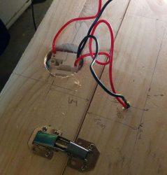 Câblage des interrupteurs des spots