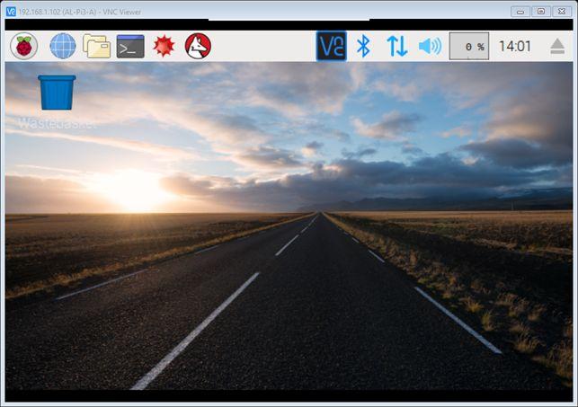 Raspberry Pi : Utilisation de VNC Viewer pour accès graphique d'un PC