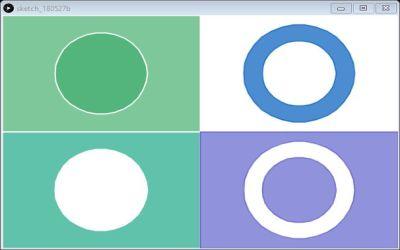 Processing : tracer un cercle avec des vertices et même un doughnut !
