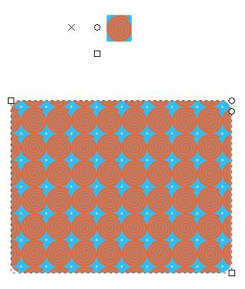 Créer un motif avec Inkscape - 2
