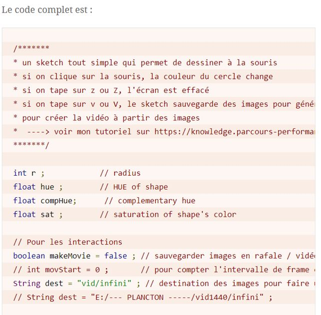 Code Prettify comme syntax highlighter