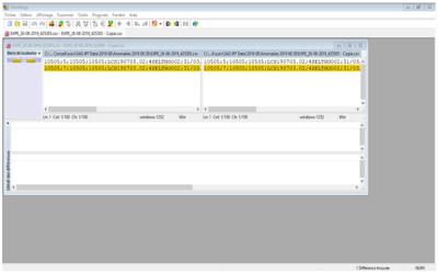 WinMerge pour voir les changements entre deux fichiers