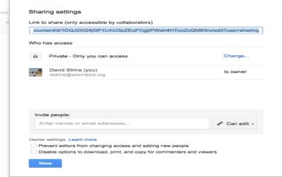 Lien de téléchargement vers fichier google drive